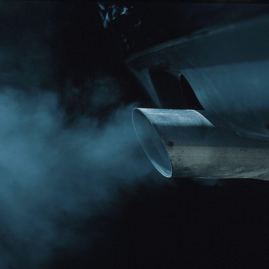 Représenation pollution véhicules thermique