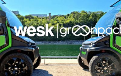 Lancement de Wesk, la mobilité électrique sans bornes !